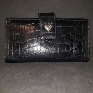 Leather wallet/clutch
